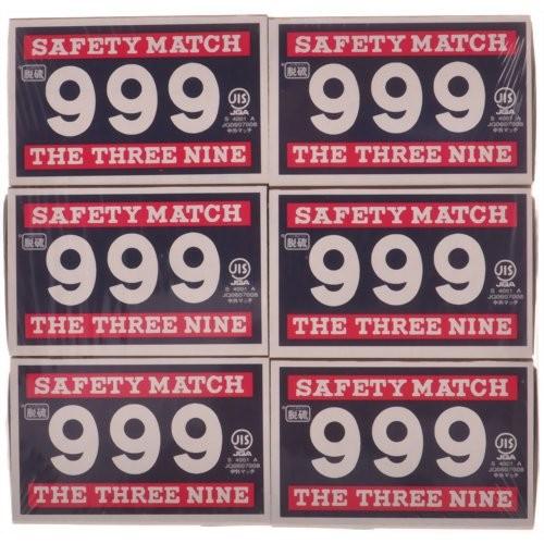 999マッチ 脱硫 並型マッチ 12P