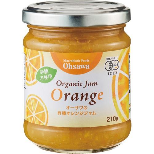 オーサワの有機オレンジジャム 210g