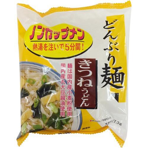 トーエー どんぶり麺 きつねうどん ノンカップメン 77.3g