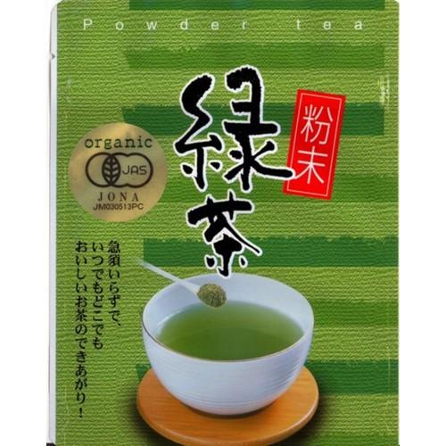 有機粉末緑茶 40g