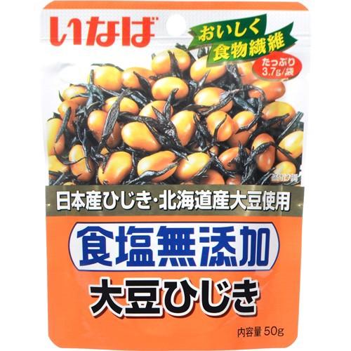いなば 食塩無添加大豆ひじき 50g