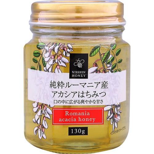 日新蜂蜜 純粋ルーマニア産アカシアはちみつ 130g