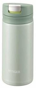 タイガー ステンレスミニボトル サハラマグ 夢重力ボトル(MUJURYOKU) 0.2L ミントグリーン MMX-A020(支社倉庫発送品)
