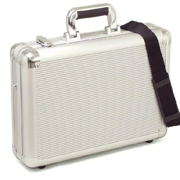 ALUMI ATTACHE アルミアタッシュ フライトケース ビジネスバッグ ボストンバッグ メンズ B4F 43cm #21197