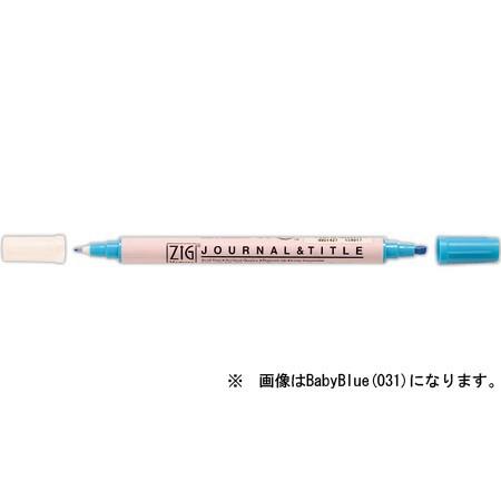 呉竹 ZIG メモリーシステム ジャーナル&タイトル CANDYPINK  (6本セット)