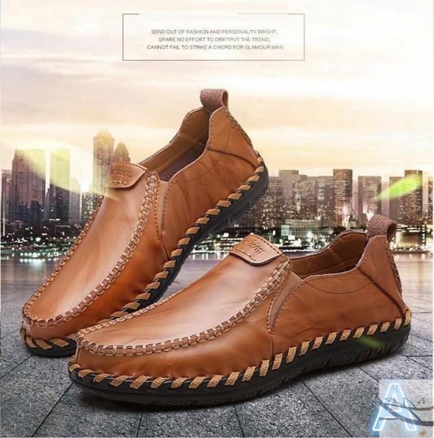 革靴 ビジネスシューズ 歩きやすい 靴 50代 カジュアルシューズ メンズ 40代 紳士用 ローカット 20代 ローファー 30代  ドライビングシュの通販はWowma!