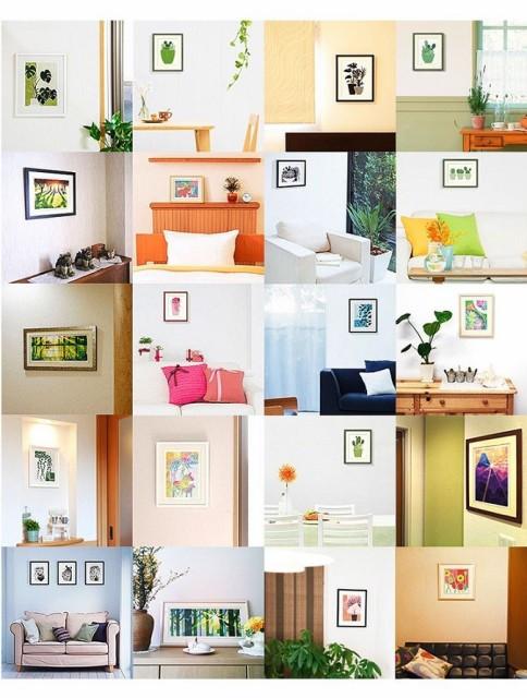 版画 ジーグレー版画 絵画 和風 アート 壁掛け/ 黄金富士 / 風水 プレゼントにも最適 洋室に和のアレンジ /和室 オフィス