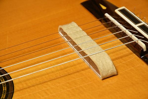 現代ギター社 GGスーパーミュート ギター用弱音器/ダークベージュ