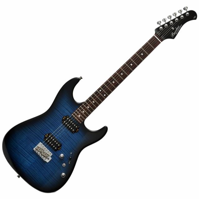 【お気に入り】 Bacchus バッカス G-STUDIO FM-HH/R BLU-B(B) エレキギター ブルーバースト 【ブラックマットネック】 グローバルシリーズ, オンセングン 82479f68