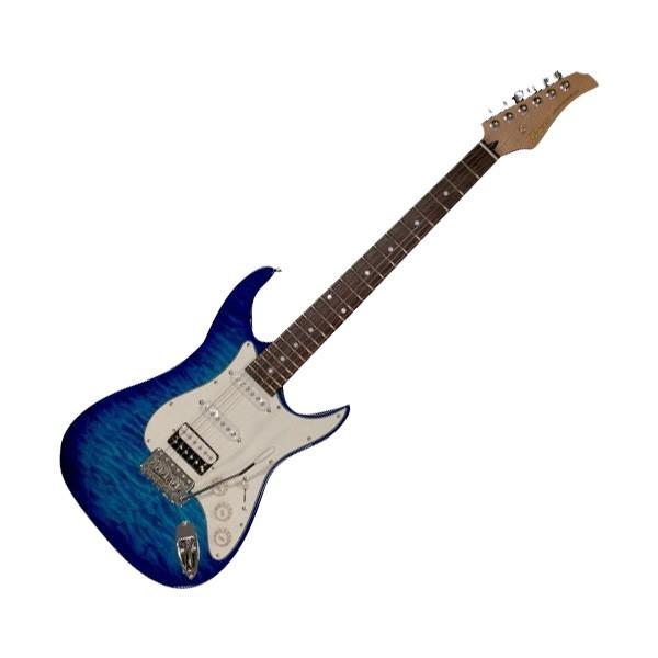 お得セット Greco グレコ WS-QT SSH R Aqua Blue エレキギター Rosewood指板, ZIPPO ジッポー 専門店の時歩屋 0c23849b