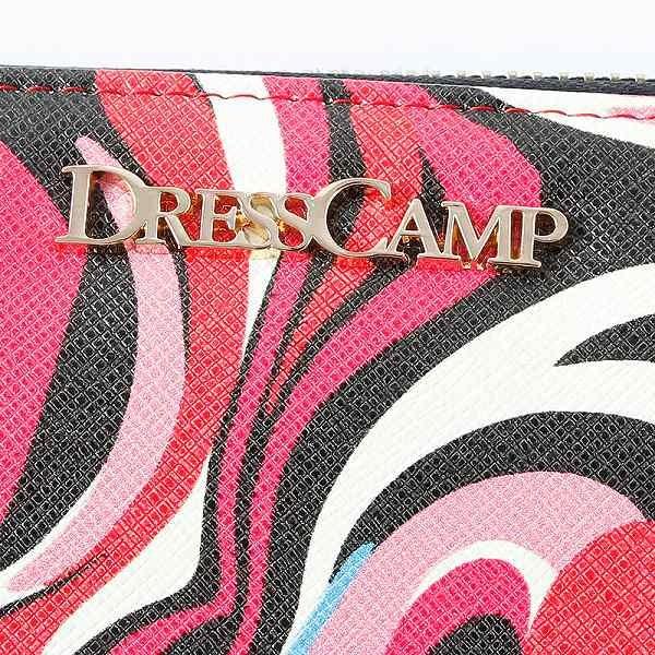 ドレスキャンプ(DRESS CAMP)/DRESSCAMP (ドレスキャンプ) ポップアート柄ラウンドジップウォレット