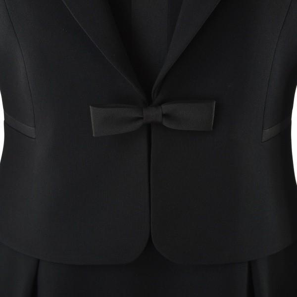 d669982fc1c90d ソリテール(SORITEAL)/【ブラックフォーマル】テーラードジャケットとサテン切り替えワンピの