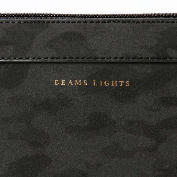 ビームス ライツ(メンズ)(BEAMS LIGHTS)/カモ柄プレート付クラッチバッグ