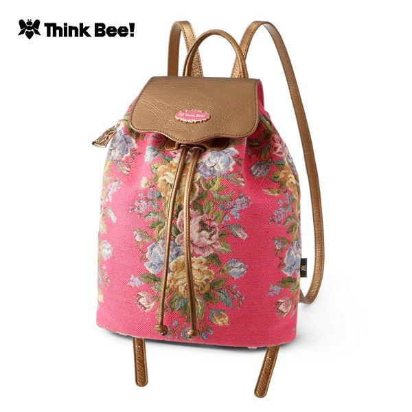 シンクビー(Think Bee!)/セレニアプレミアム リュック(ピンク)