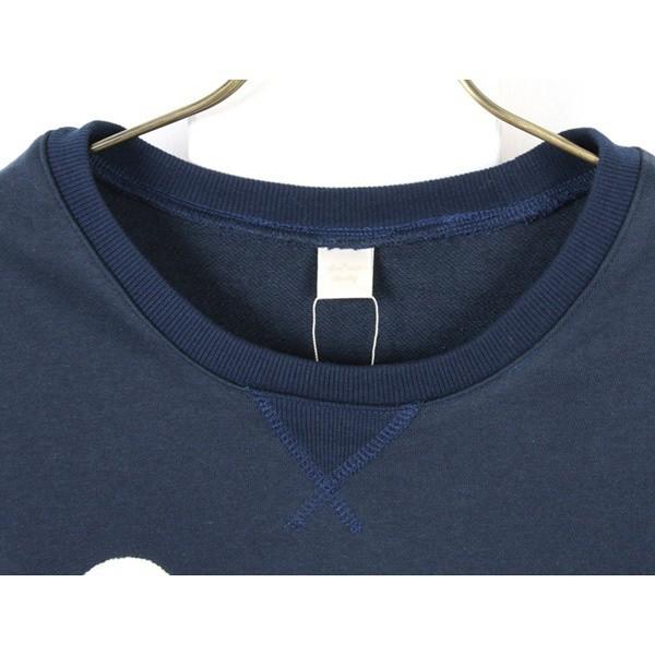 フェリーニ(fellini)/裾ジッパー付きロゴ起毛トレーナー