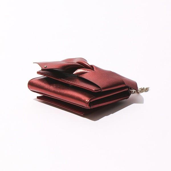 ロウェル シングス(LOWELL Things)/リボン三つ折り財布