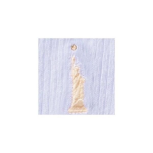 イーストボーイ(EAST BOY)/ラインストーン付き女神刺繍入りソックス 32cm 【スクール】【通学】【制服】【小物】