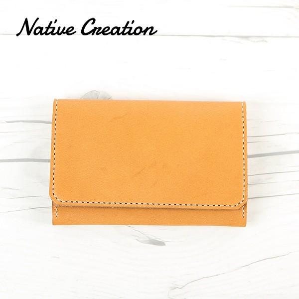 ネイティブクリエイション(Native Creation)/本革シンプルカードケース (NC3704 栃木レザー 日本製)