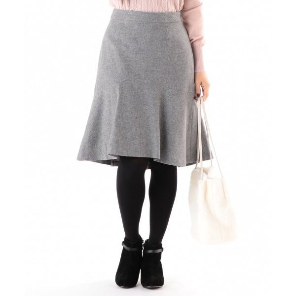 エニィスィス(any SiS)/【洗える】ウィンターマーメイドカルゼ スカート