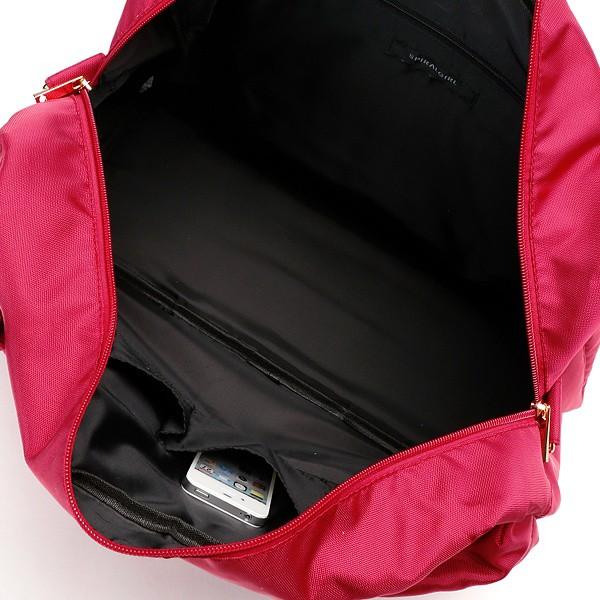 スパイラルガール(バッグ&ウォレット)(SPIRALGIRL)/シンプル・2WAYトラベルボストンバッグ