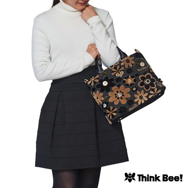 シンクビー(Think Bee!)/セレナーデ トートバッグ(2ウェイタイプ/ブラック)