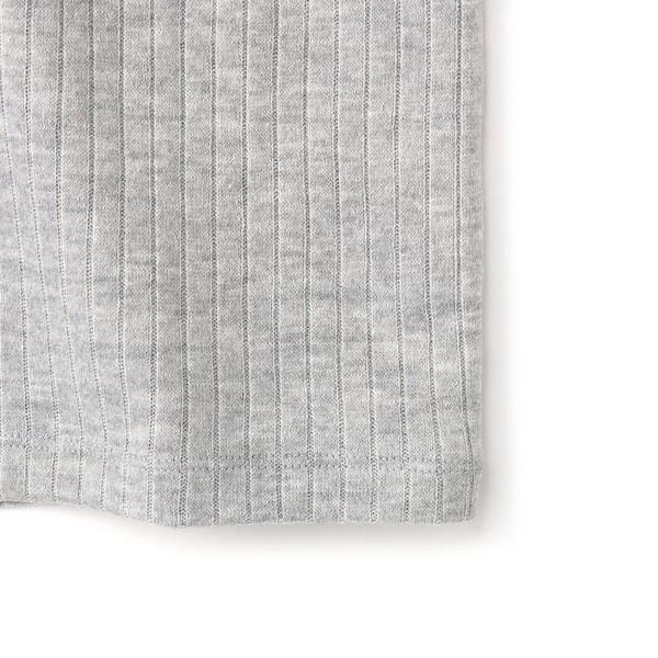 ライトオン(レディース)(Right-on)/【BACK NUMBER】スタンドカラー付きテレコ編みカットソー ウィメンズ
