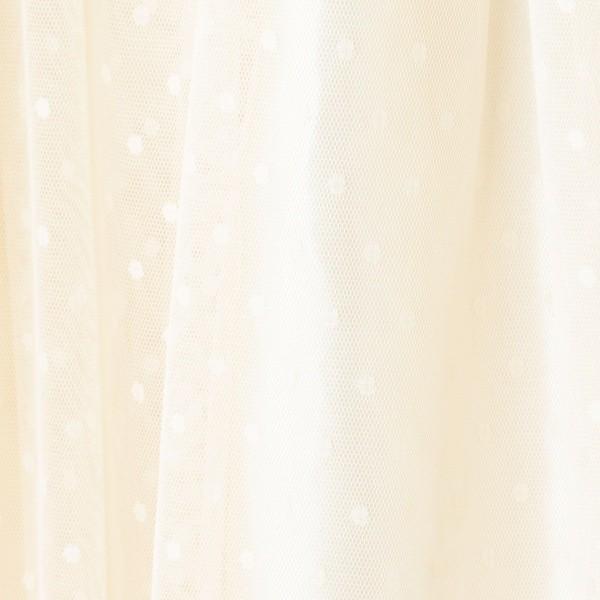 ピンクアドベ(pink adobe)/ドットチュールスカート