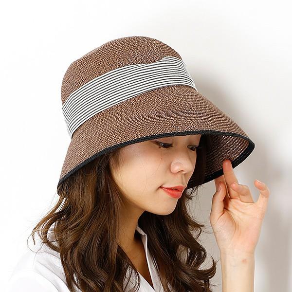 トプカピ(TOPKAPI)/ペーパーブレードリボン付き・エッジアップ帽