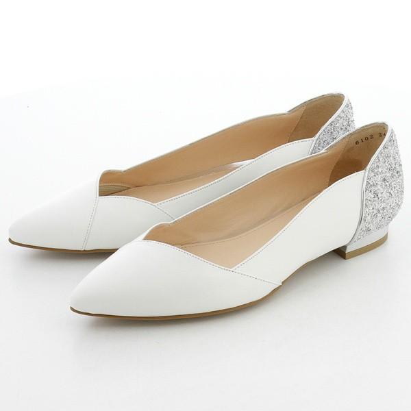 ジルスチュアート シュー(シューズ)(JILLSTUART shoe)/素材コンビカッターパンプス