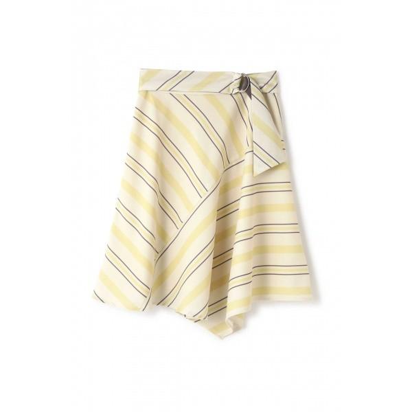 プロポーションボディドレッシング(PROPORTION BODY DRESSING)/ストライプアシンメトリースカート