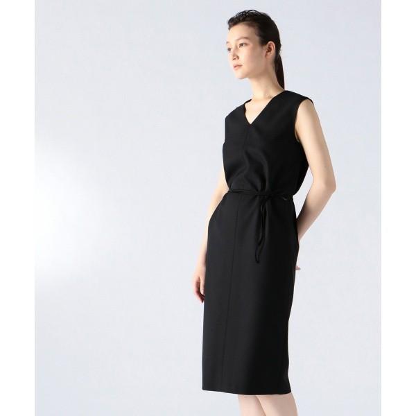 ジョゼフ ウィメン(JOSEPH WOMEN)/FOREST / ウールポリエステルジョーゼット ドレス / ワンピース