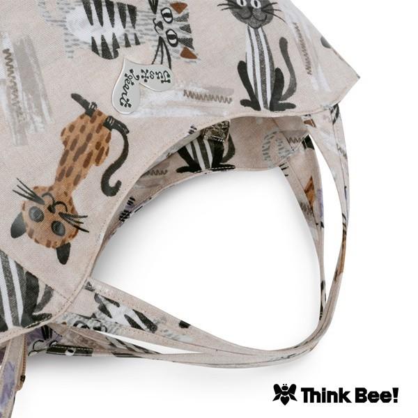 シンクビー(Think Bee!)/ストレイキャッツ バッグ(グレイッシュカラー)