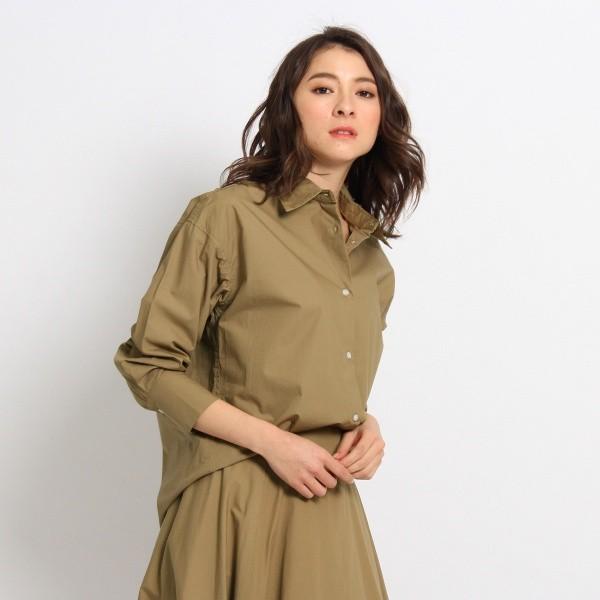 デッサン(レディス)(Dessin Ladies)/【洗える】タイプライタードレスシャツ