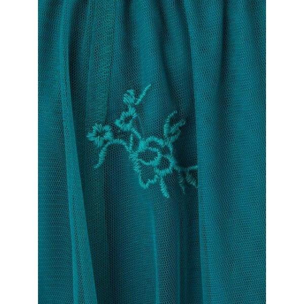 RD ルージュディアマン(Rouge Diamant)/同色刺繍チュールスカート