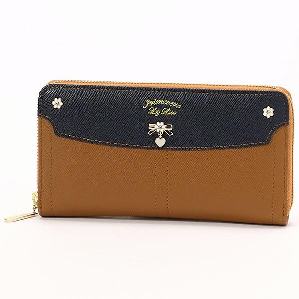 705e4d410e41 リズリサ(バッグ&ウォレット)(LIZ LISA Bag&Wallet)/ジンジャー ラウンド長財布