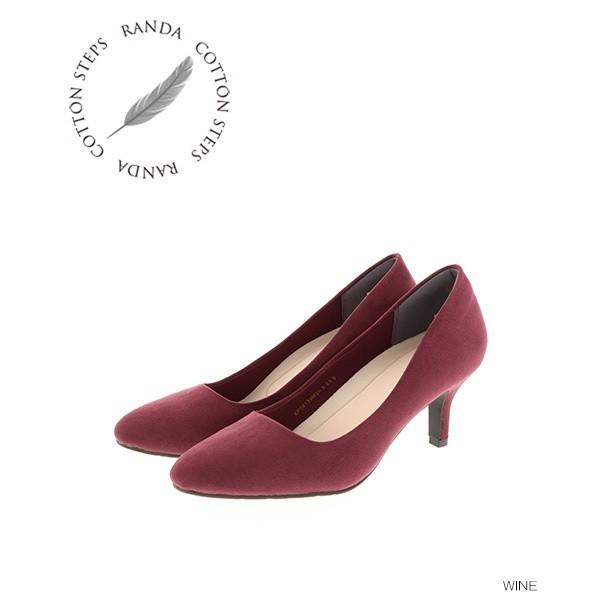 ランダ(RANDA)/【22-25.5】ストレスフリー/ベーシックパンプス