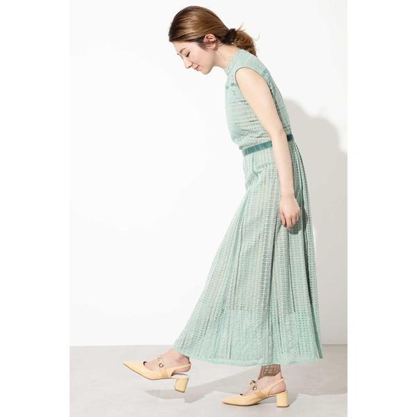 d0b5666f0f90c ローズバッド(ROSE BUD) 幾何レースノースリーブドレスの通販はWowma ...
