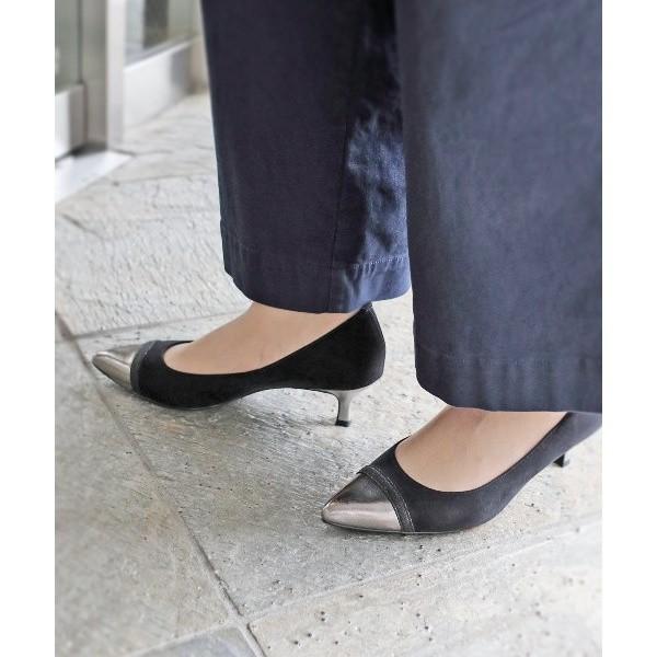 カオリプラス(kaori plus)/パンプス(結婚式靴/ポインテッドトゥ/静音リフト/滑り止め中敷き)