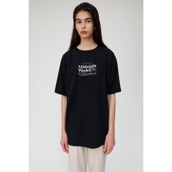 マウジー(MOUSSY)/NEWS PAPER AD Tシャツ