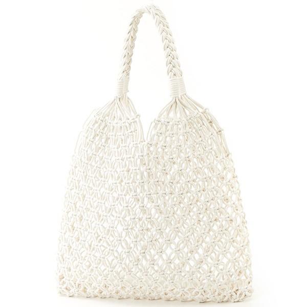 【NEW】ブリジットバーキン・セレクト(Bridget Birkin Select)/20春夏新作◆コットン編み手提げバッグ