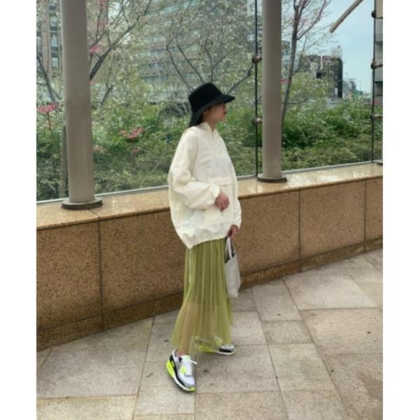 【NEW】シェルターセレクト(SHEL'TTER SELECT)/カラーチュールプリーツスカート(Color Tulle Pleats Skirt)