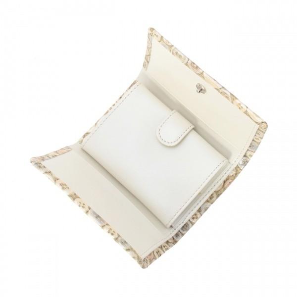 ヒロコ ハヤシ(HIROKO HAYASHI)/ERENDHIRA(エレンディラ)ミニ三つ折財布