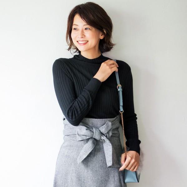 アールユー(ru)/【ラクチンぽかぽかニット】【XXS~7L】タートルネックリブ編みセーター