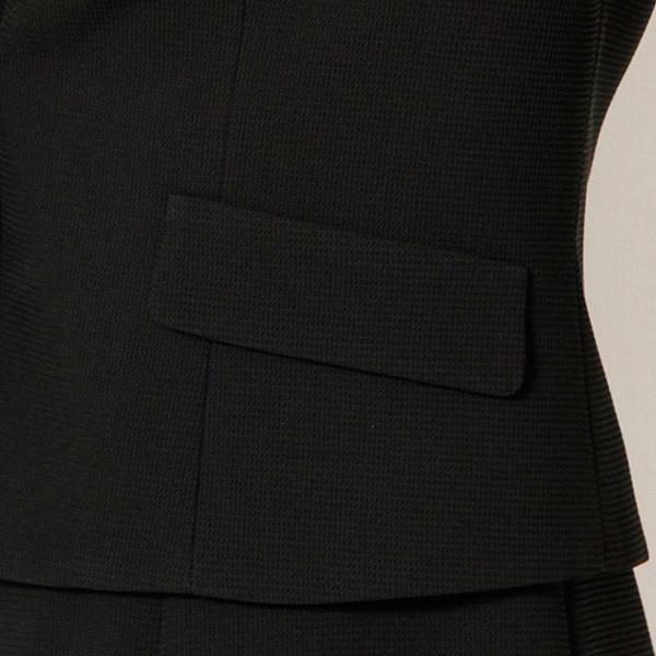 アールユー ノアール(ブラックフォーマル)(ru noir)/【3号~19号】喪服/ラクチン綺麗ブラックフォーマル 2ジャケット&前開きワンピ…