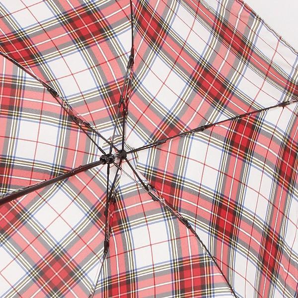 マッキントッシュ フィロソフィー(MACKINTOSH PHILOSOPHY)/【軽量約115g!・チェック柄】ユニセックス折りたたみ傘(バーブレラ Bar…