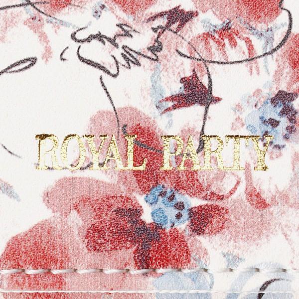 ロイヤルパーティー(バッグ&ウォレット)(ROYAL PARTY)/RPフラワー(ラウンド長財布)