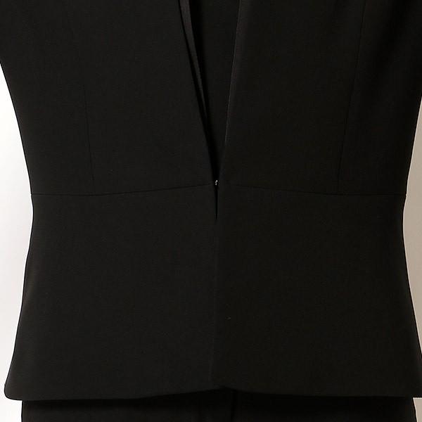 ヴィーノステラ(VinoStella)/【ブラックフォーマル】ノーカラージャケットスーツ/喪服/ブラックフォーマルスーツ/レディース