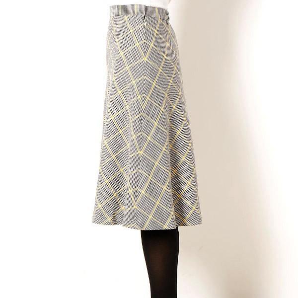 ヴェール ブラン(VERS BLANCS)/チェック切替えスカート