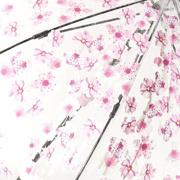フルトン(FULTON)/雨傘(長傘/ビニール傘)【英国王室御用達】花/桜(婦人/レディース)