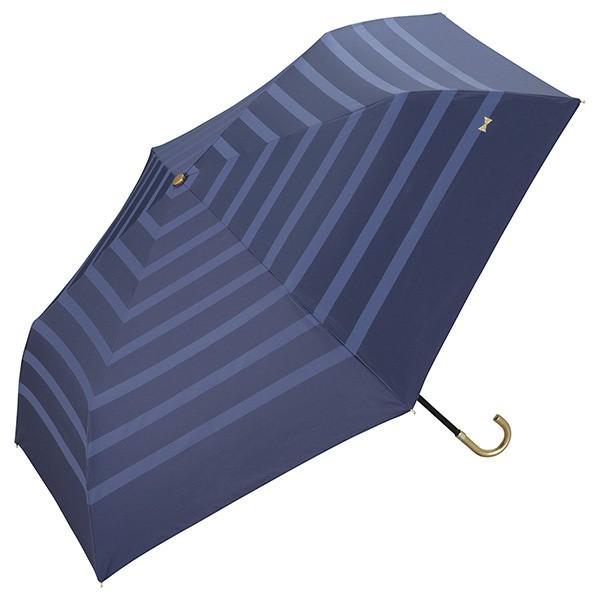 w.p.c(WPC)/日傘 晴雨兼用 遮光リボンボーダーmini(レディース/雨の日も使える)